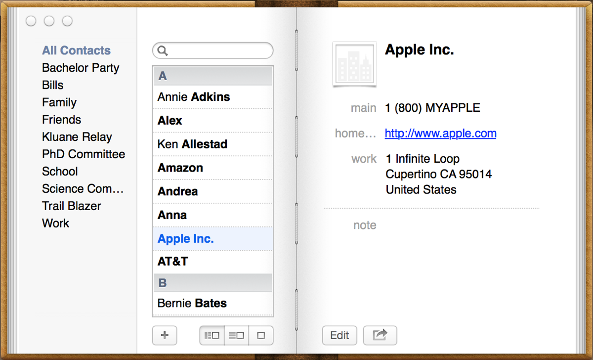 apple fail 3 address book jeffrey early